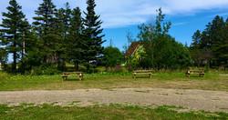 3 des 7 emplacements pour tente