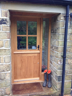 Stable Door with Side Light