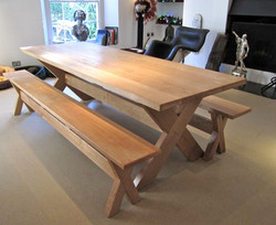 Refectory Table and Benches