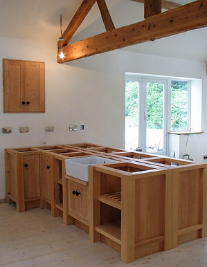 Bepoke Kitchen Design in Douglas Fir