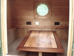 Boat Dinette Elm & Brown Oak