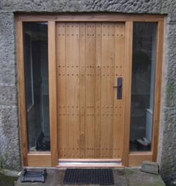 Pegged Entrance Door & Frame