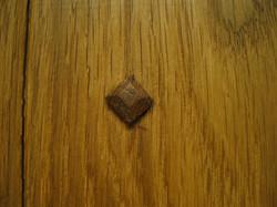 Oak Peg Detail