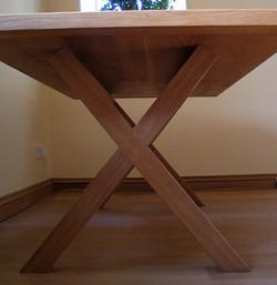 Contemporary Oak Table Base