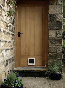 Door with Catflap