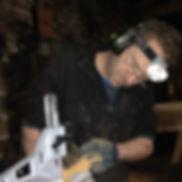 Jaime Ward Timber Framer