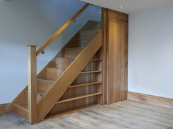 Understairs Bookcase and Door