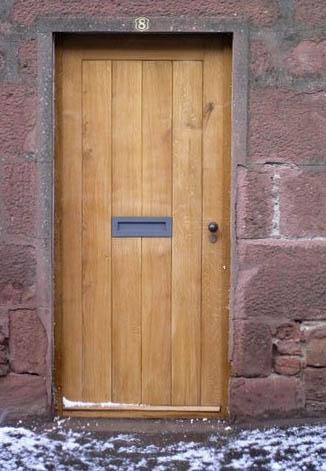 Scottish Oak Door