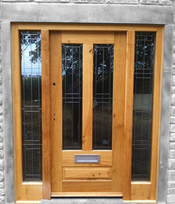 Glazed Oak Door & Frame