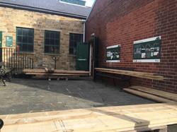 Outside of the Workshop at Elsecar