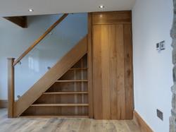 Understairs Storage & Door