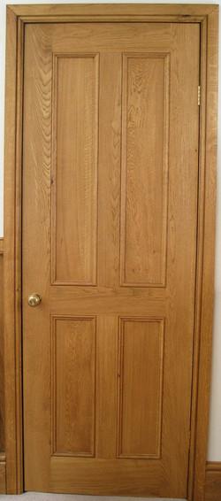 Internal Oak Panel Door