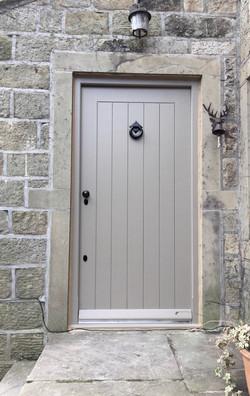 Painted External Door