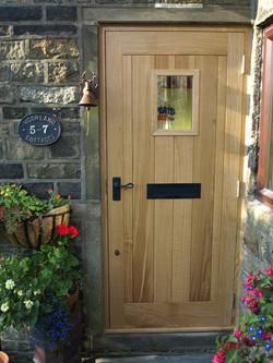 Oak Door with Window