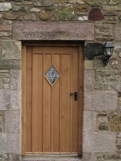 Oak Door with Muntins