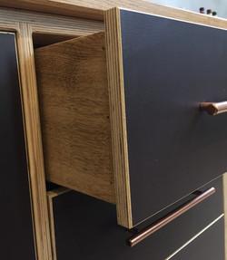 Drawer Detail Solid Oak Box