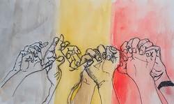 Belgium stands