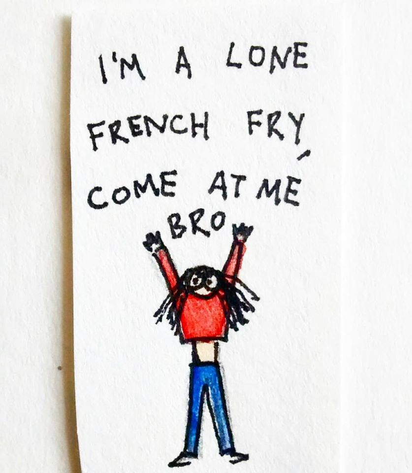lone french fry