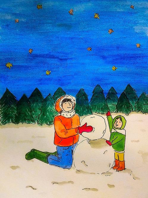 Christmas Card - STARS