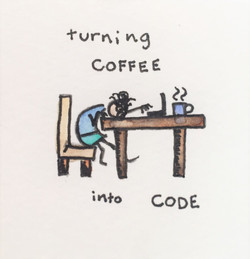 turning coffee into code