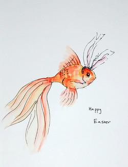 Easter goldfish