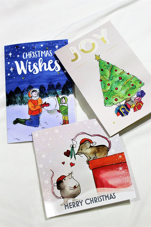 3 for £5 Christmas Cards