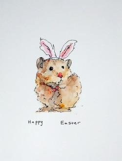 Easter hamster