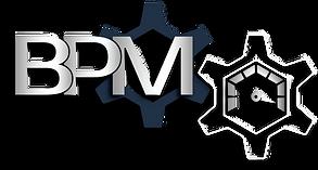 Logo expliquant les 3 divisions de BPM Inc. : Consultation Maintenance & Performance