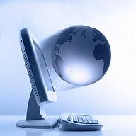 La terre qui sort d'un écran PC BPM Inc. ContactezNous