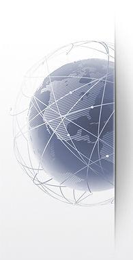 La terre en Globe terrestre Réseau communication BPM Inc. ContactezNous