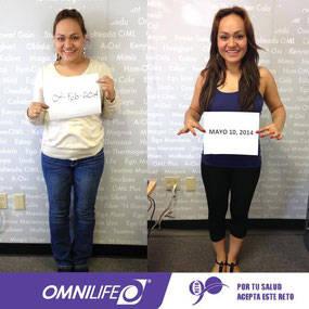 Testimonios de bajar de peso con omnilife usa