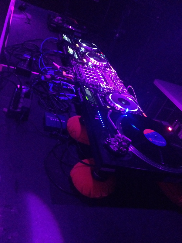 DJ rig - Fixed @ SRB Brooklyn