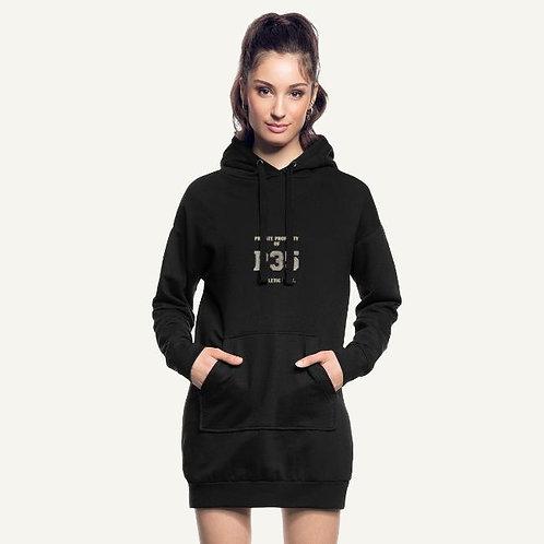Hoodie Dress Woman - P35 Sports Logo