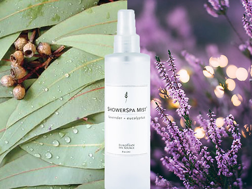 Calming Lavender and Eucalyptus Shower Spa Mist