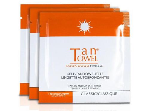 FULL -BODY TAN TOWELETTES (15PK)