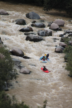 rafting rio chili in arequipa peru