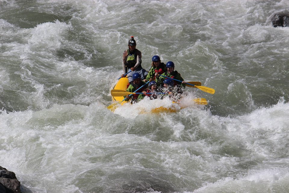 Rafting in rio majes