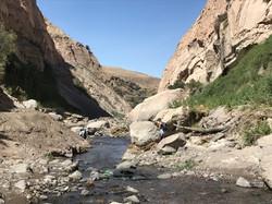 stream leading to Kapua Waterfall