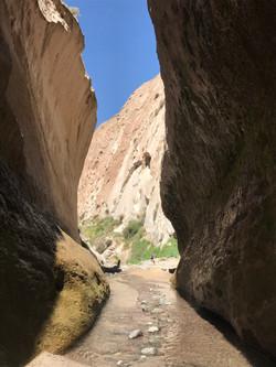 Canyon leading to Kapua Waterfall