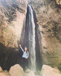 The Kapua waterfall