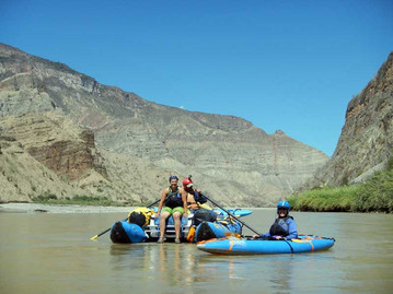 Floating on the Rio Maranon