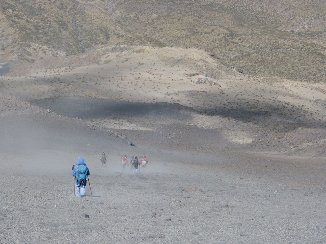 summiting the misti volcano