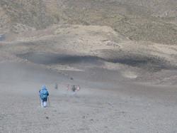 summiting the misti volcano