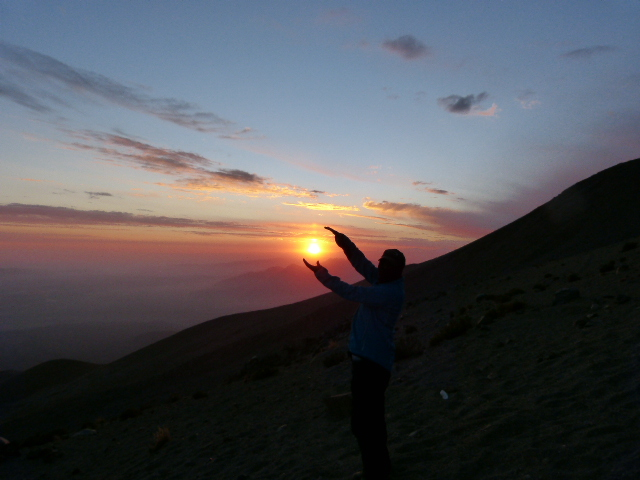misti volcano basecamp