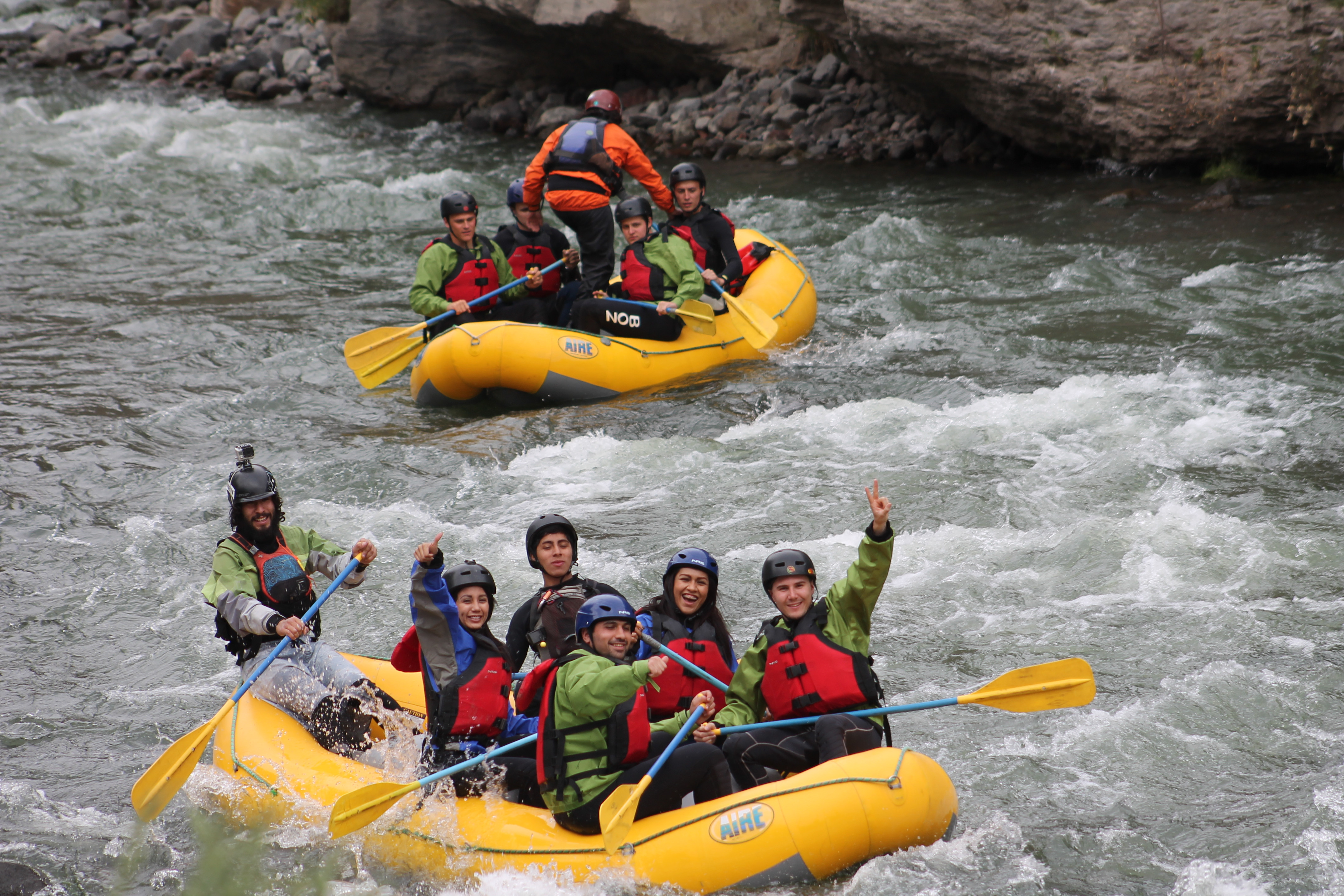 Rio Chili Rafting Tour