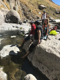 Paccha Waterfall pools