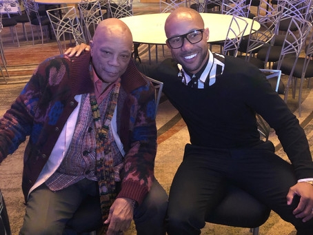 Quincy Jones @ Celebrity Fight Night