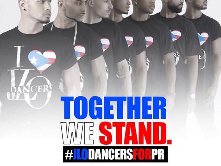 """Project Manager & creator """"Together We Stand. #JLoDancersforPR"""""""