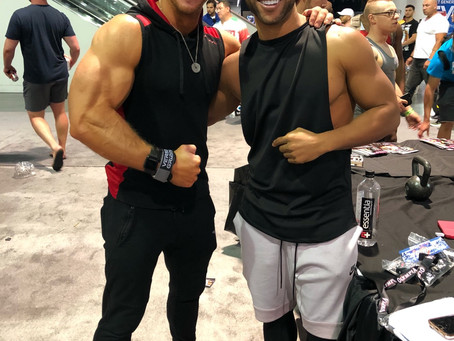 Mr. Olympia withJames Ellis & Alex Jamal