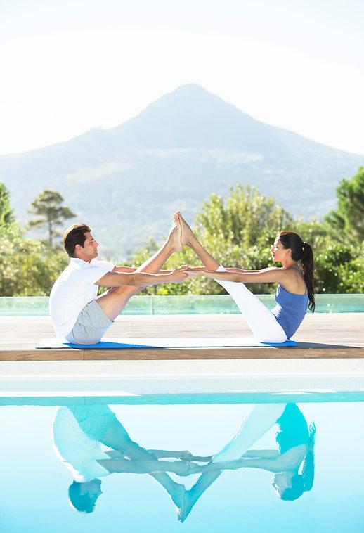 Simetría de yoga